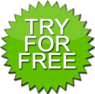 Try For Free - Green Sticker